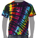 Rainbow Zebra w/black